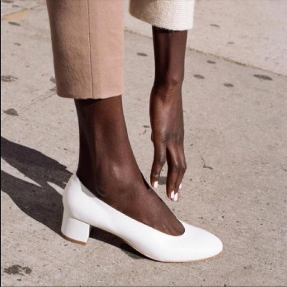a8438ab7990 Louise et Cie Shoes - Louise et Cie Vince Camuto white Knox pump 7.5